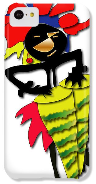 IPhone 5c Case featuring the digital art African Drummer by Marvin Blaine