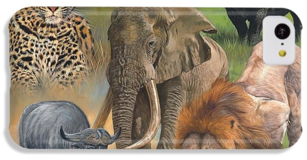 Africa's Big Five IPhone 5c Case by David Stribbling