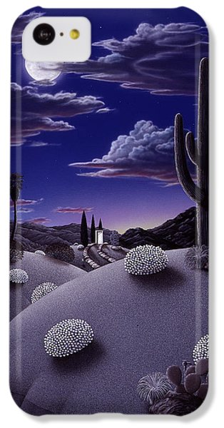 Desert iPhone 5c Case - After The Rain by Snake Jagger