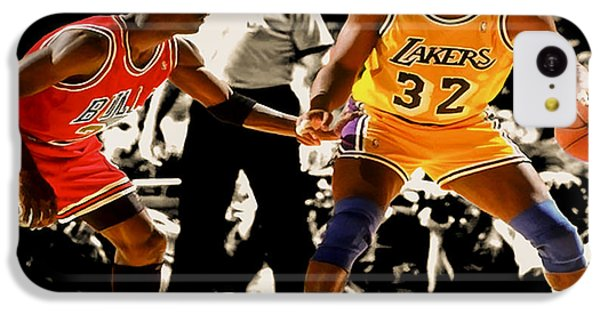 Air Jordan On Magic IPhone 5c Case by Brian Reaves