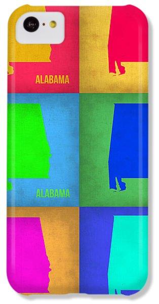 Alabama Pop Art Map 1 IPhone 5c Case