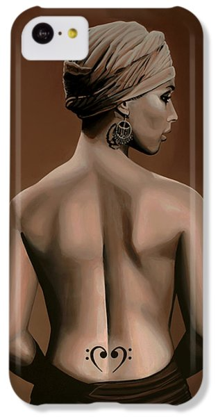 Rhythm And Blues iPhone 5c Case - Alicia Keys  by Paul Meijering