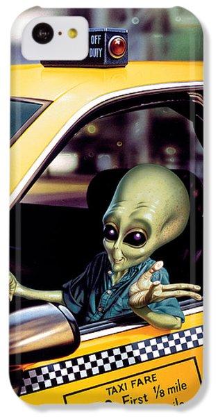 Alien Cab IPhone 5c Case by Steve Read