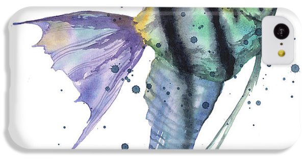 Alluring Angelfish IPhone 5c Case by Alison Fennell