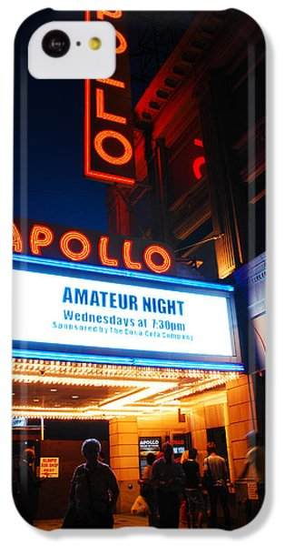 Apollo Theater iPhone 5c Case - Amateur Night by James Kirkikis