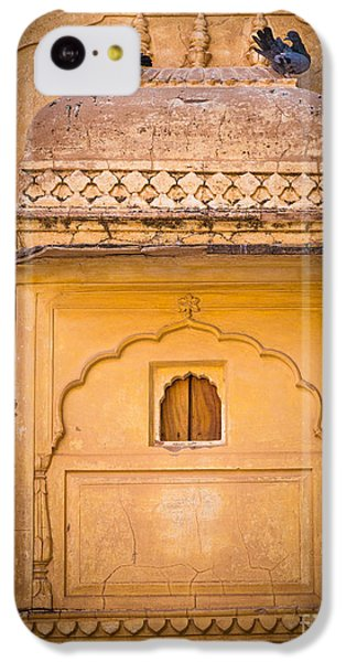 Amber Fort Birdhouse IPhone 5c Case by Inge Johnsson