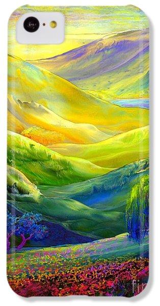 Wildflower Meadows, Amber Skies IPhone 5c Case