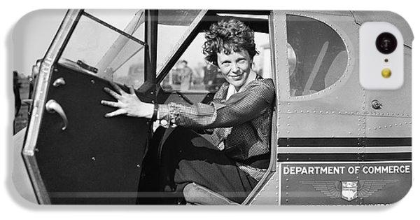 Amelia Earhart - 1936 IPhone 5c Case by Daniel Hagerman
