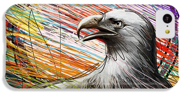 Condor iPhone 5c Case - American Eagle by Peter Awax
