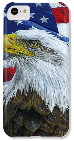 American Eagle IPhone 5c Case by Sarah Batalka