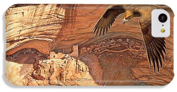 Eagle iPhone 5c Case - Anasazi - Ancient Ones by Paul Krapf
