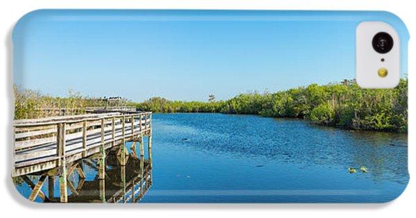 Anhinga iPhone 5c Case - Anhinga Trail Boardwalk, Everglades by Panoramic Images