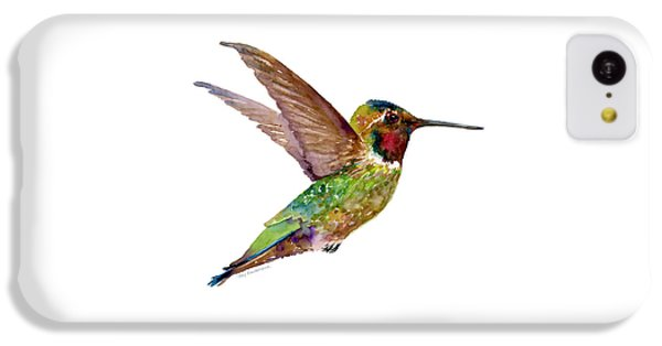 Anna Hummingbird IPhone 5c Case by Amy Kirkpatrick
