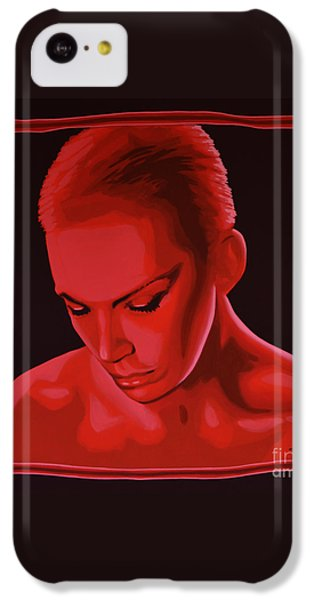 Annie Lennox IPhone 5c Case by Paul Meijering