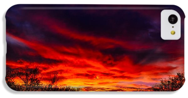 IPhone 5c Case featuring the photograph Another Tucson Sunset by Mark Myhaver