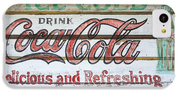 Antique Coca Cola Sign  IPhone 5c Case
