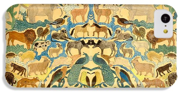 Antique Cutout Of Animals  IPhone 5c Case