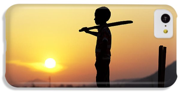 Any One For Cricket IPhone 5c Case by Tim Gainey