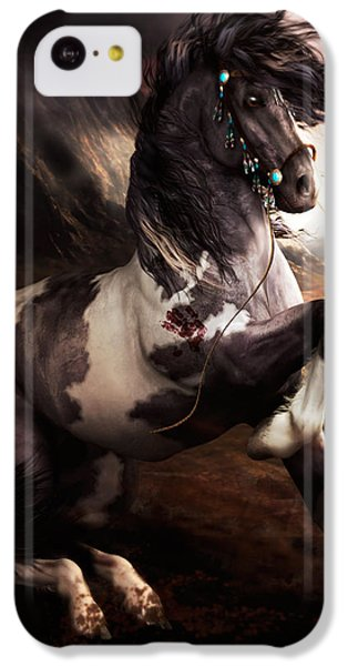 Apache Blue IPhone 5c Case by Shanina Conway