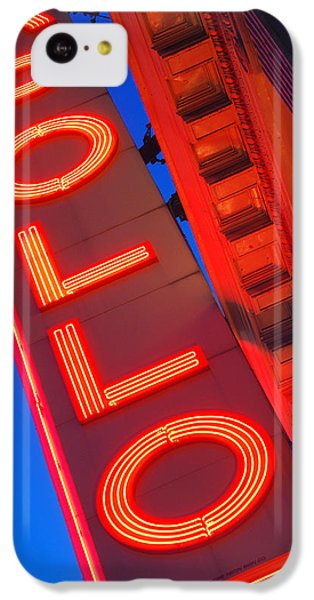 Apollo Theater iPhone 5c Case - Apollo Nights by James Kirkikis