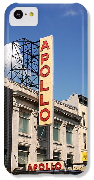 Apollo Theater IPhone 5c Case by Martin Jones