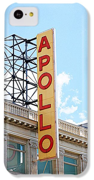 Apollo Theater iPhone 5c Case - Apollo Theater Sign by Valentino Visentini