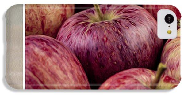 Fruit Bowl iPhone 5c Case - Apples 01 by Nailia Schwarz