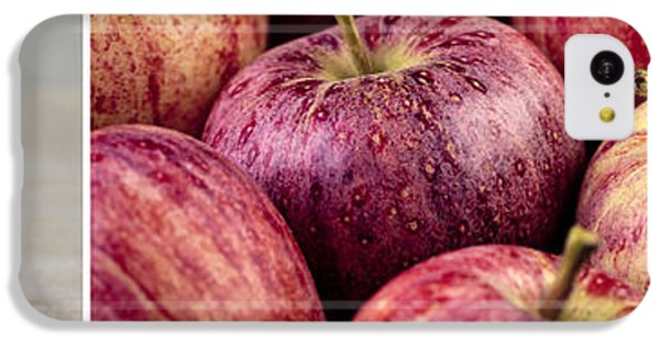 Fruit Bowl iPhone 5c Case - Apples 02 by Nailia Schwarz