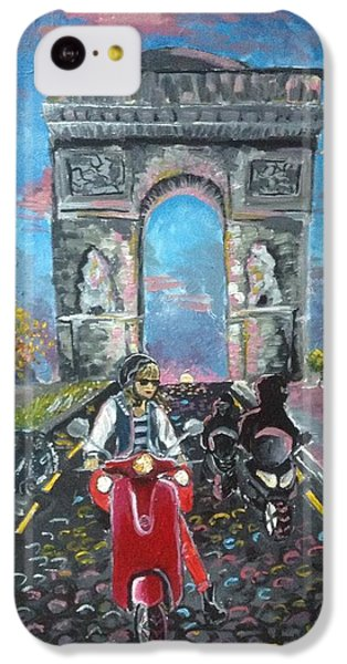 Arc De Triomphe IPhone 5c Case by Alana Meyers