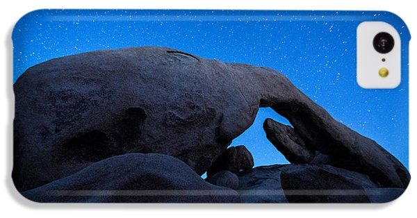 Arch Rock Starry Night 2 IPhone 5c Case by Stephen Stookey