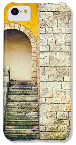 IPhone 5c Case featuring the photograph Arched Entrance by Silvia Ganora