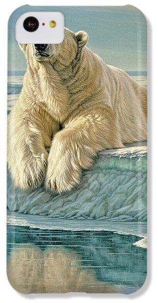 Polar Bear iPhone 5c Case - Arctic Heir by Paul Krapf