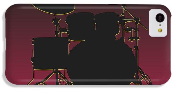 Arizona Cardinals Drum Set IPhone 5c Case by Joe Hamilton