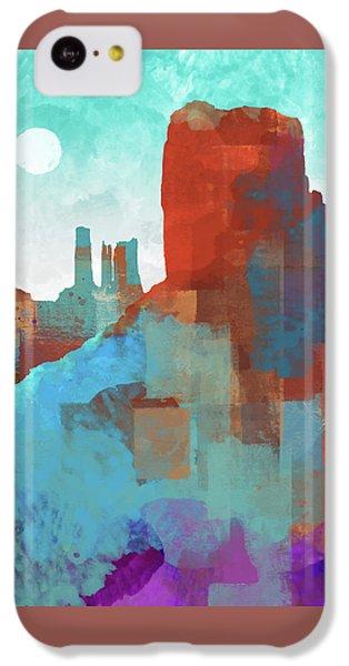 Arizona Monument IPhone 5c Case by Dan Meneely