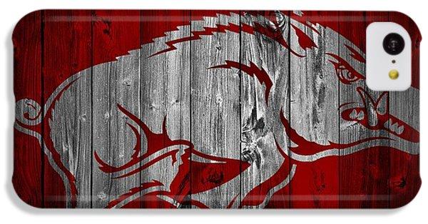 Arkansas Razorbacks Barn Door IPhone 5c Case by Dan Sproul