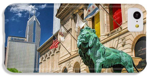 Art Institute In Chicago IPhone 5c Case by Christopher Arndt
