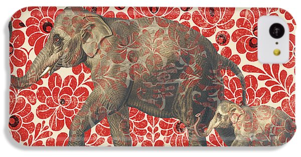 Asian Elephant-jp2185 IPhone 5c Case by Jean Plout