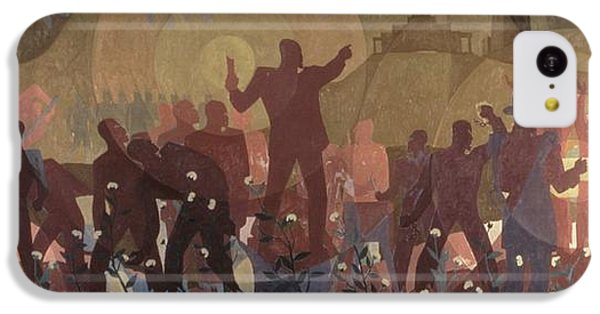 Harlem iPhone 5c Case - Aspects Of Negro Life by New York Public Library/aaron Douglas