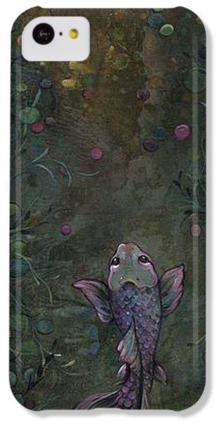 Aspiration Of The Koi IPhone 5c Case by Shadia Derbyshire