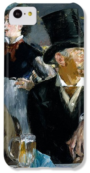 At The Cafe Concert IPhone 5c Case by Edouard Manet