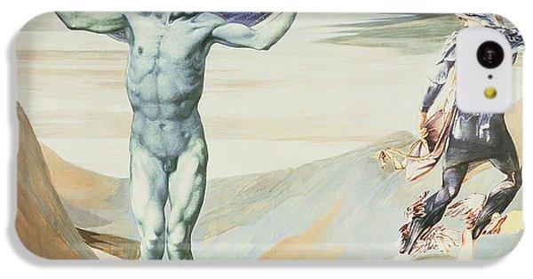 Gorgon iPhone 5c Case - Atlas Turned To Stone, C.1876 by Sir Edward Coley Burne-Jones