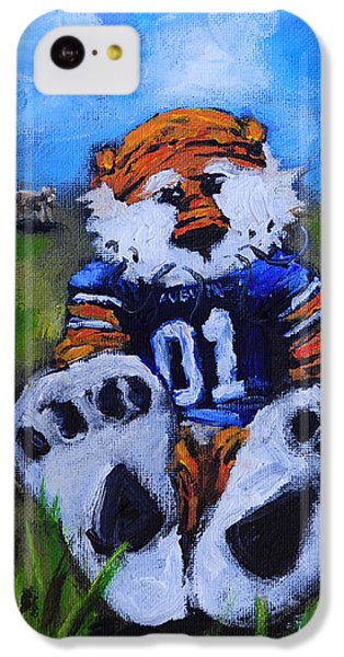 Cow iPhone 5c Case - Aubie With The Cows by Carole Foret