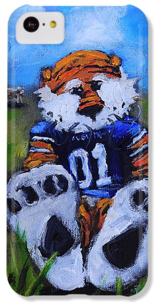 Aubie With The Cows IPhone 5c Case by Carole Foret