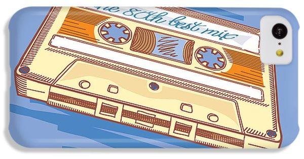 Sound iPhone 5c Case - Audio Cassette by Alex bond