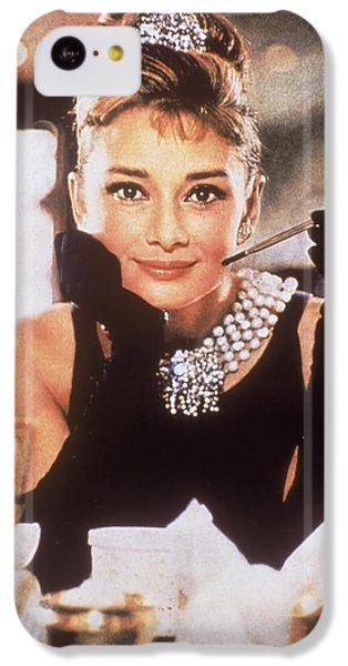 Audrey Hepburn IPhone 5c Case by Georgia Fowler