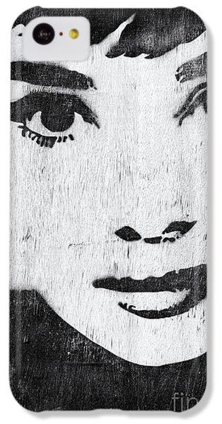 Audrey Hepburn IPhone 5c Case by Tim Gainey