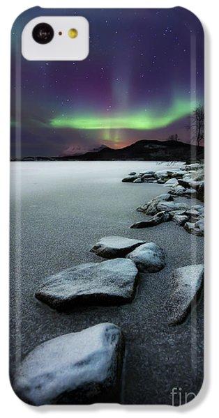 Aurora Borealis Over Sandvannet Lake IPhone 5c Case