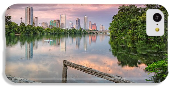Austin Skyline From Lou Neff Point IPhone 5c Case by Silvio Ligutti