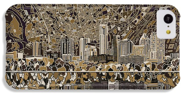 Austin Texas Skyline 5 IPhone 5c Case
