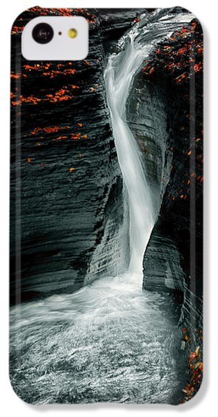 Flow iPhone 5c Case - Autume by Larry Deng
